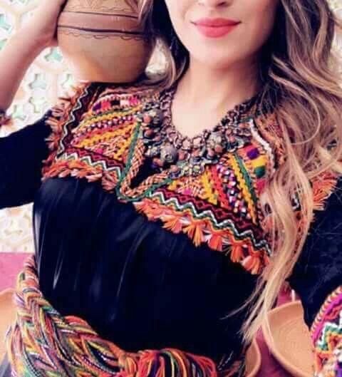 Pin By Bila Yanar On Robe Kabyle Hijab Fashion Inspiration Algerian Clothing Afghani Clothes