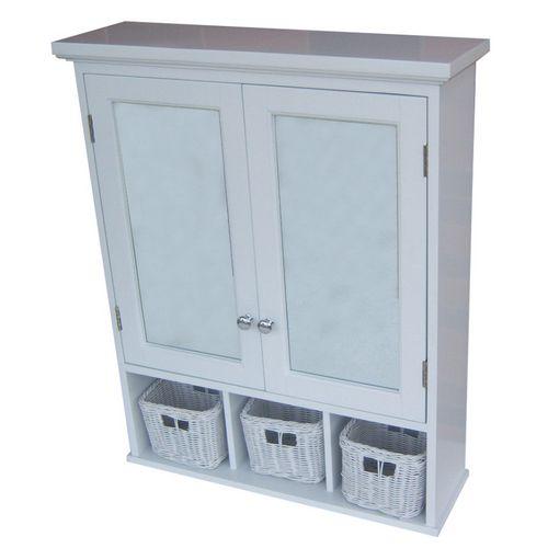 """Good Storage Above Work Surface: To Add Storage Above Toilet: Allen + Roth 24-3/4"""" Wood"""