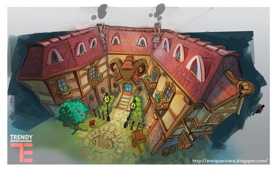 Inn concept by 3nrique