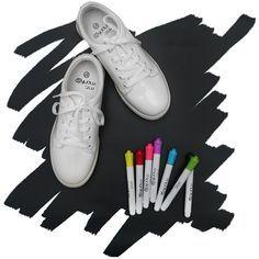 Qui n'a jamais eu l'idée, adolescent, de customiser ses chaussures avec des feutres et des stylos ? En France, la startup Mr Monkies vous propose des chaussure