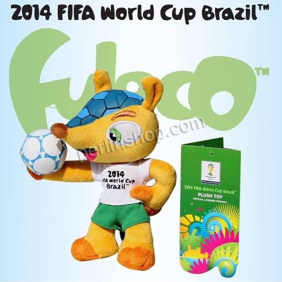 Plüsch Dekoration, Gürteltier, 2014 Brasilien Weltmeisterschaft Geschenk, farbenfroh, 240x170x100mm, verkauft von Stück - perlinshop.com