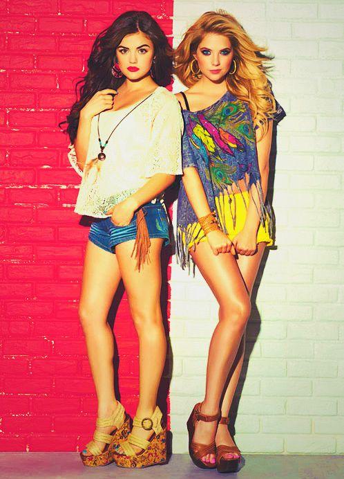 Lucy hale et ashley benson || More Fashion at www.misskady.com ||