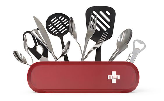 Swissarmius cutlery holder