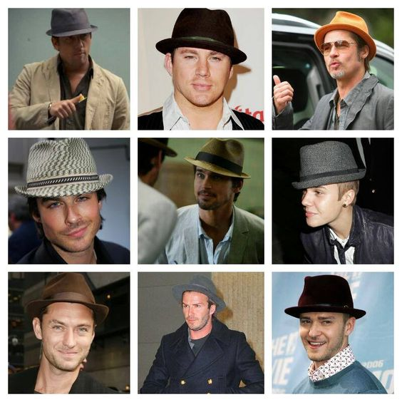Many have tried, many have failed. There is only one man who looks good in a Fedora. LOL