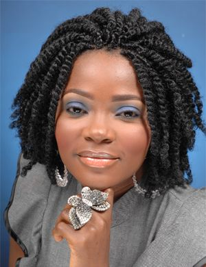 Sensational Hair Grow Faster Twists And Kinky Twists On Pinterest Short Hairstyles Gunalazisus