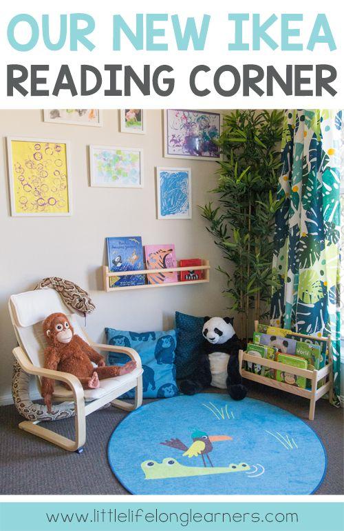 Our Ikea Reading Corner Reading Corner Kids Reading Nook Kids