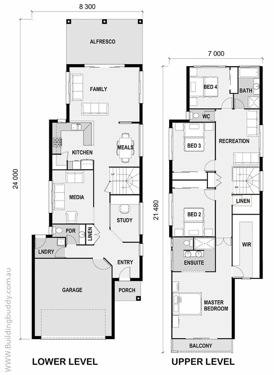 Small lot house plans melbourne house interior for Small house design melbourne