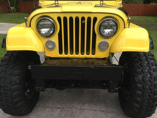 Purchase Used 1979 Jeep Ccj7 V8 2nd Owner Recent Frame Off With 15 In Lift In Jacksonville Florida United States For Us 14 000 00 En 2020