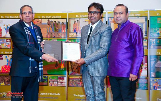 D.imman – the official ambassador of Canada Tamil chair!