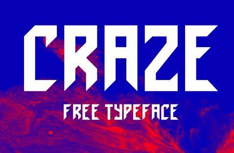 Craze Typeface