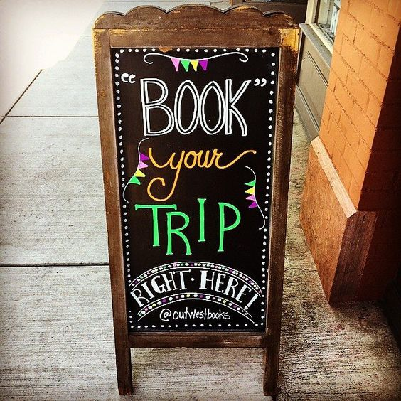 Book your trip at Out West Books, Grand Junction, CO: