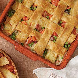 Makeovers for Thanksgiving Leftovers | Ham-and-Vegetable Cobbler | SouthernLiving.com