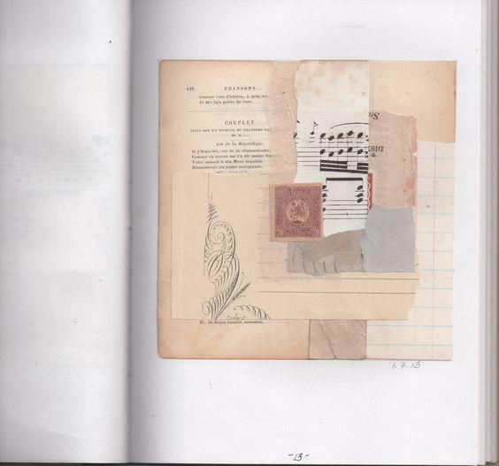P.13 1 Susan Gilman Jokels #collage #art #journal