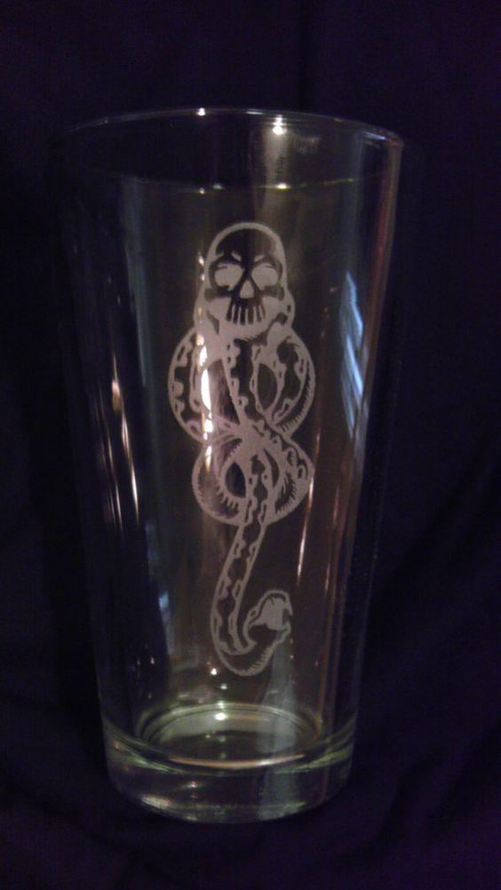 Harry Potter Dark Mark Pint Glass