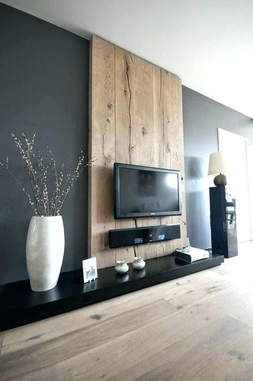 Wall Mount Tv Design Ideas Living Room Designs Today Was Modern