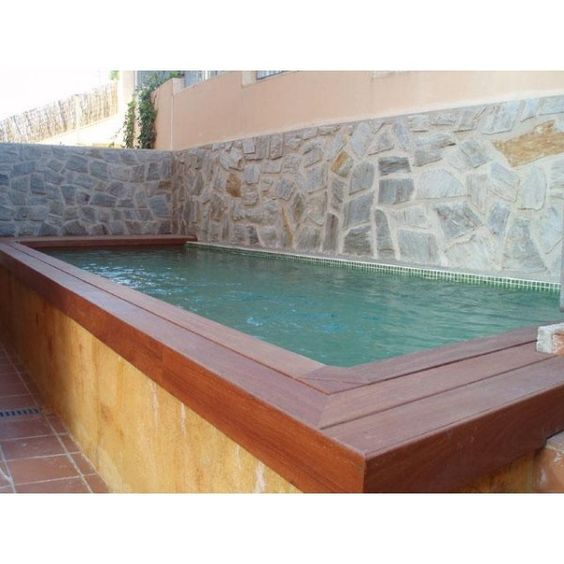 Google and b squeda on pinterest for Piscina obra pequena
