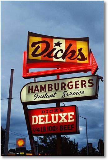 Dick's Drive-In Restaurants, Seattle, WA