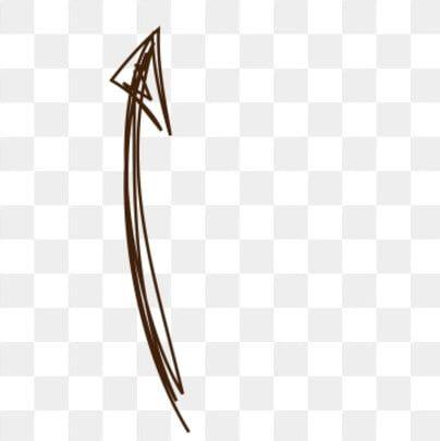 Hand Drawn Curved Directional Arrow Cartoon Hand Painted Arrow Png And Psd Menggambar Tangan Latar Belakang Bunga Adobe Illustrator