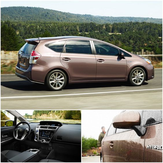 Space savvy, Family friendly... Get to where you need to be in a Prius!
