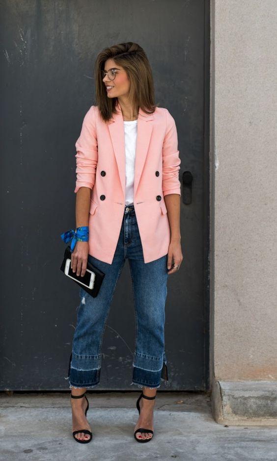 Look moderno com calça jeans para varias ocasiões.