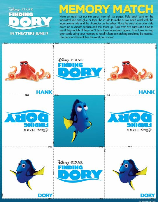Finding Dory Activity and Coloring Sheets Coloring sheets - new pixar coloring pages finding nemo