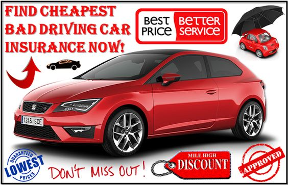 Tips To Secure Cheap Auto Insurance For Bad Driving Record Car