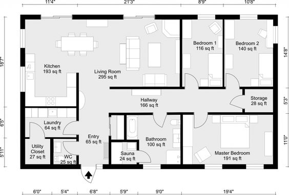 Create 2D Floor Plans easily with RoomSketcher. Draw yourself or order. Perfect for real estate, home design and office projects. High-quality for print & web.