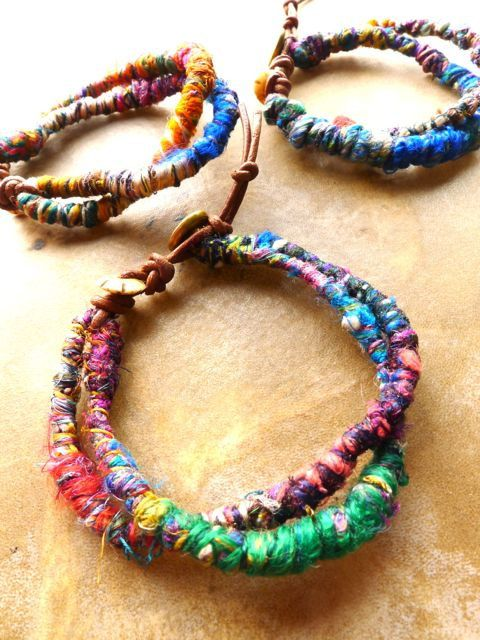 Tribal dread Bracelet Anklet / Boho/ Bohemian/ Hippy/ by Temple33