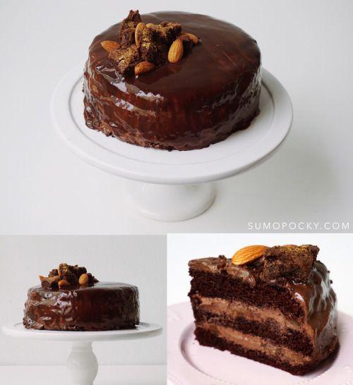 Sumopocky: Chocolate Banana Cake RecipeReally nice recipes.  Mein Blog: Alles rund um die Themen Genuss & Geschmack  Kochen Backen Braten Vorspeisen Hauptgerichte und Desserts # Hashtag