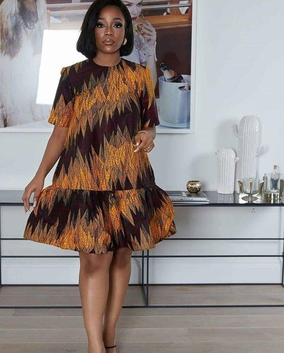 DIY Ankara gown