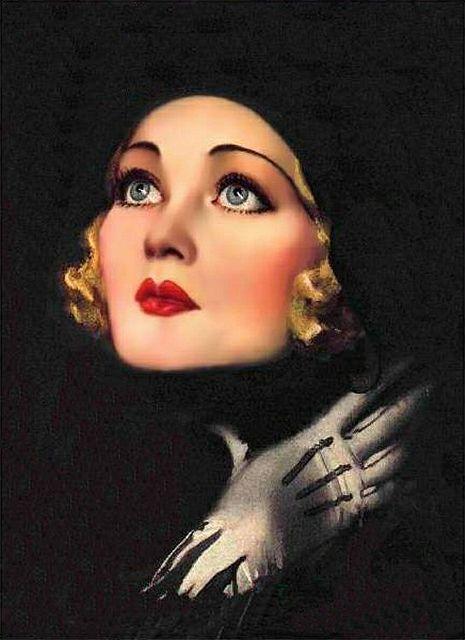 Rolf Armstrong - Constance Bennett 1931