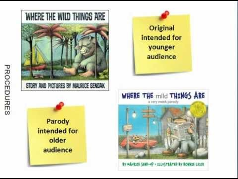 Introducing Parody through Picture Books (+playlist)