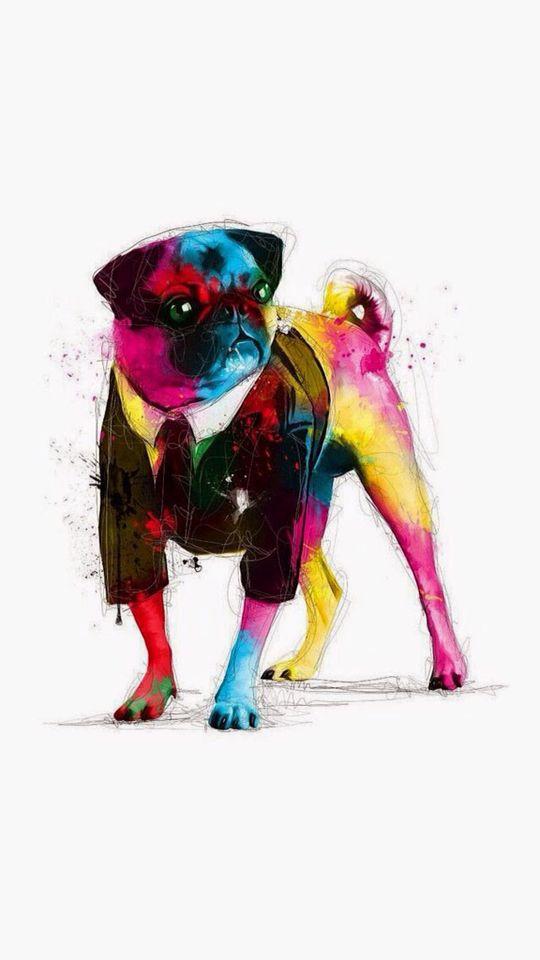 It's a...creative dog