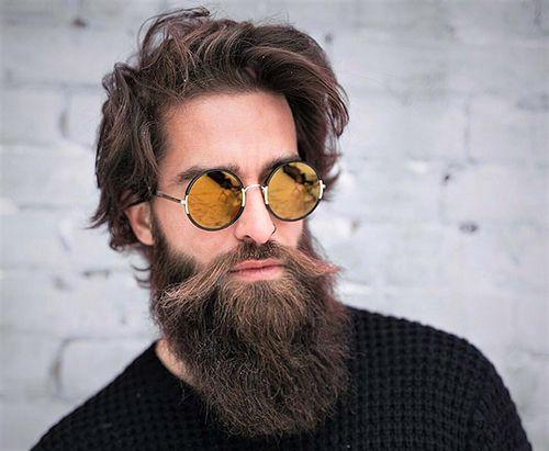 Optez Pour Le Style De Barbe Qui Vous Plait Coupe De Cheveux Coiffure Homme Cheveux Mi Long Homme