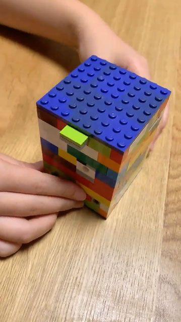 小学6年生がレゴで作った力作 からくり箱 に反響 これはすごい