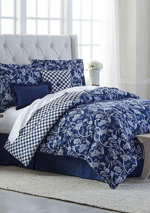 Modern Southern Home Zanita 6 Piece Comforter Bed In A Bag