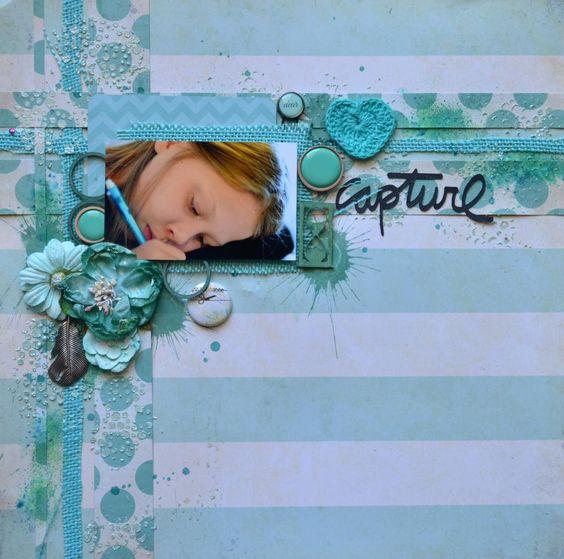 16 mai - Monochrome turquoise