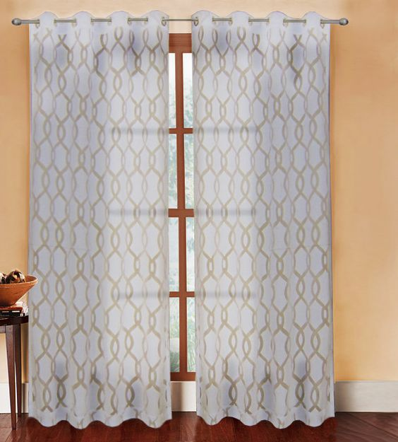 Peacock Blue Curtain Panels Decorative Fringe On Curtain Pa
