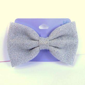 Claires Oversized Glitter Bow      Starting bid:$3.00