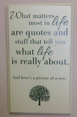 especially the tree; that really says it! LOL!