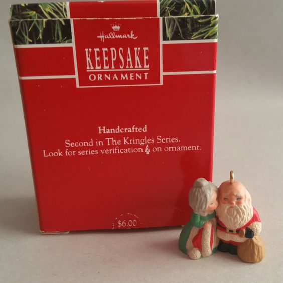 Hallmark Keepsake Ornament, The Kringles #2, 1990.  The Kringles' Series.
