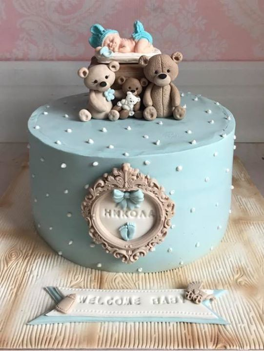 Welcome Baby Boy Girl Cake Baby Boy Cakes Baby Boy Cookies