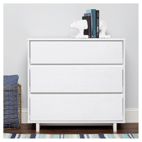 Add A Stylish Storage Solution And Update The Look Of Your Bedroom With This Modern 3 D White Furniture Living Room White Bedroom Furniture Small White Dresser
