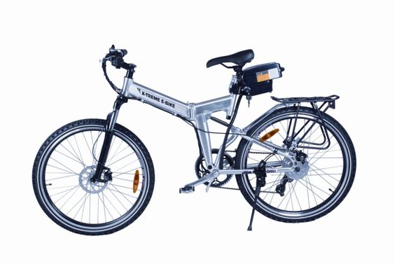 X-Treme - X-Cursion Folding Electric Mountain Bicycle