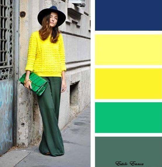 Como Combinar El Color Amarillo Combinacion Colores Ropa Como Combinar Colores Ropa Combinar Colores Ropa