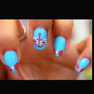 Nail design! Cute