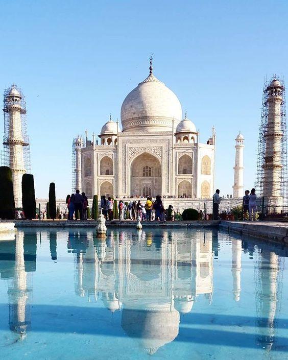 #mytajmemory Y finalmente llegamos...  by je_suis_heureuse #IncredibleIndia #tajmahal