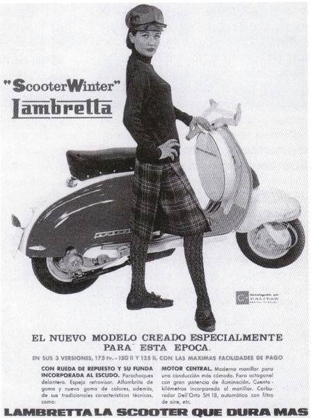 Lambretta Eibar 'Winter Model' ad | Inspiring Ads ...