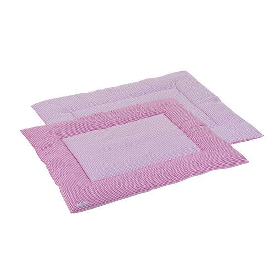 Laufgittereinlage rosa 80x100 cm