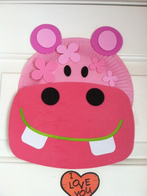 Hippo craft Crafty Pinterest Crafts and Hippo crafts